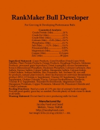 RankMaker Bull Developer