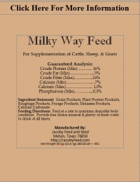 Milky Way Feed