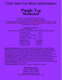 Purple Tag Medicated