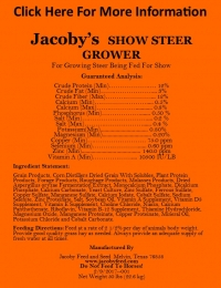 Show Steer Grower