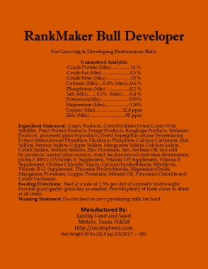RankMaker Bull Developer 1