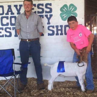 Bryce Bunnell,Missouri,dealer-Brett, Davis County, breeder--Ron Alden, Grand Champion County