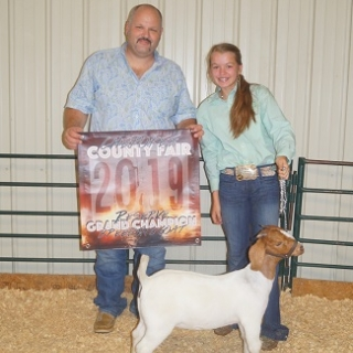 chloe silka RG breeding doe county